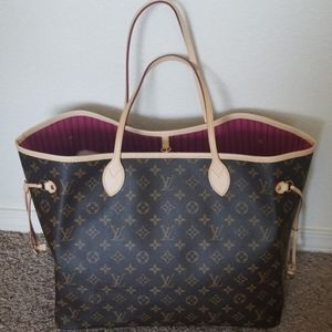 AUTHENTIC LOUIS VUITTON GM NEVERFULL